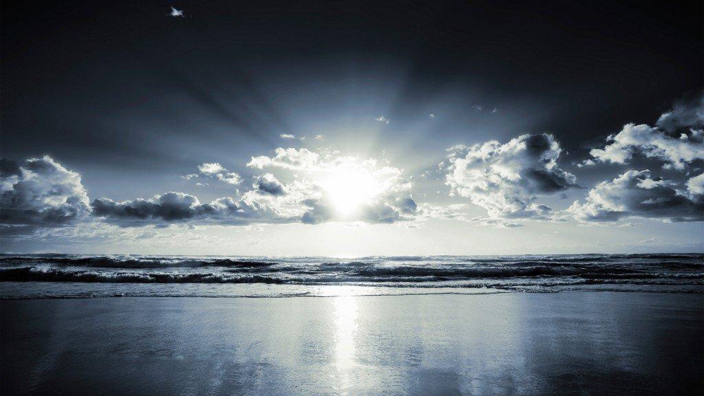 красивые фотографии природы, красивые фото моря, ночь на море, обои для рабочего стола