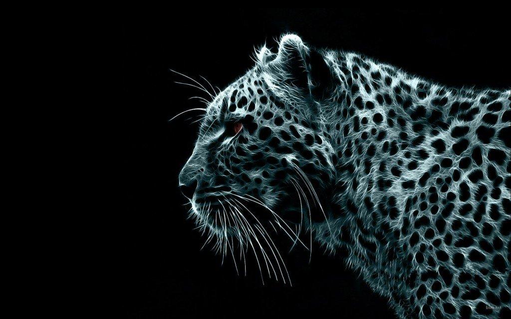 Обои на рабочий стол, Digital Leopard, скачать обои на рабочий стол, красивые фотографии леопардов, фото природы