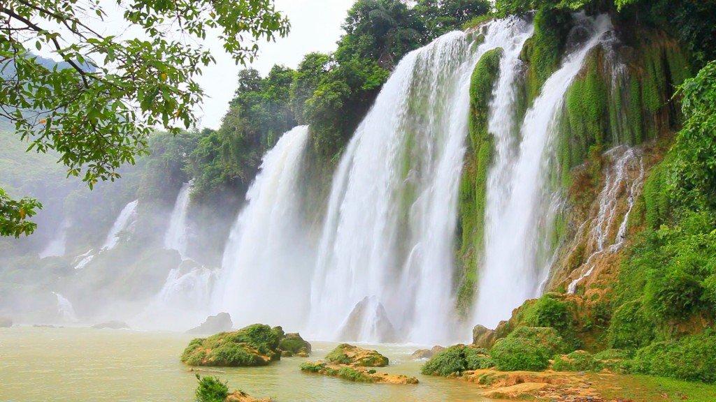 фотографии водопада, фото дикой природы, красивые фото природы, заставки на рабочий стол, рабочий стол Windows