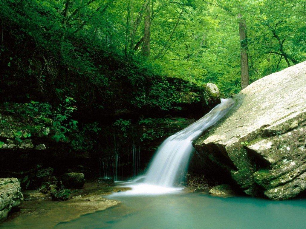 фотография водопада, красивые фото, красивые обои на рабочий стол, Windows заставки
