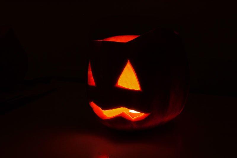 фонарь джека, фонарик из тыквы, Хэллоуин