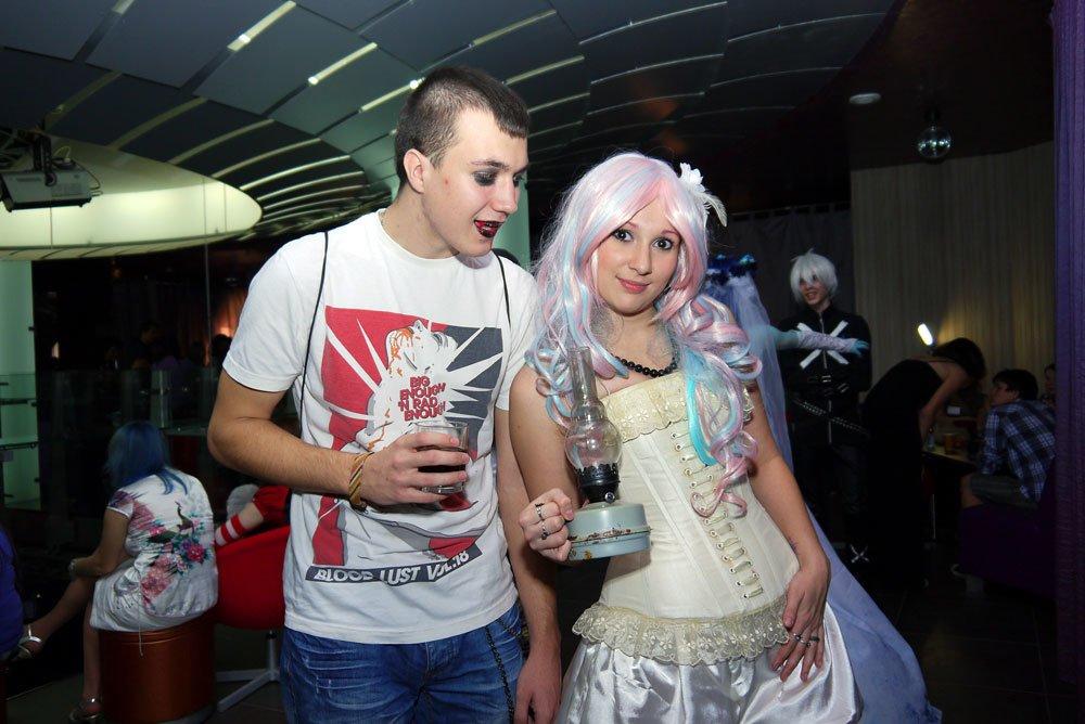 Оренбург, Хэллоуин, косплей, клуб Дружба, 2012