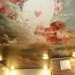 натяжной потолок, грильято, польза натяжного потолка
