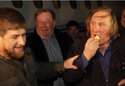 Депардье, Грозный, Кадыров