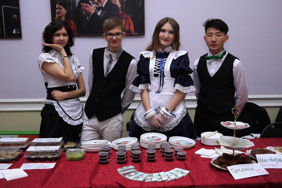 Кафе фестиваля Katatsumuri 2013 в Оренбурге