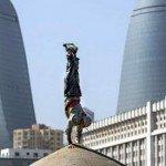 легенда, паркур, райан, дойл, визит, Баку