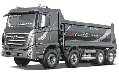 запчасти, грузовик, Hyundai Xcient