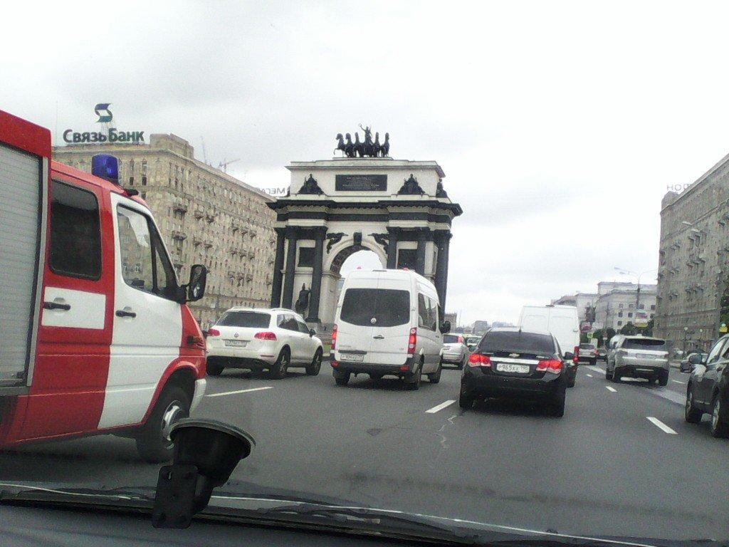 Москва, улица, дорога