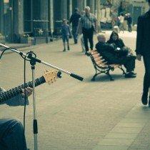улица, музыкант, арбат