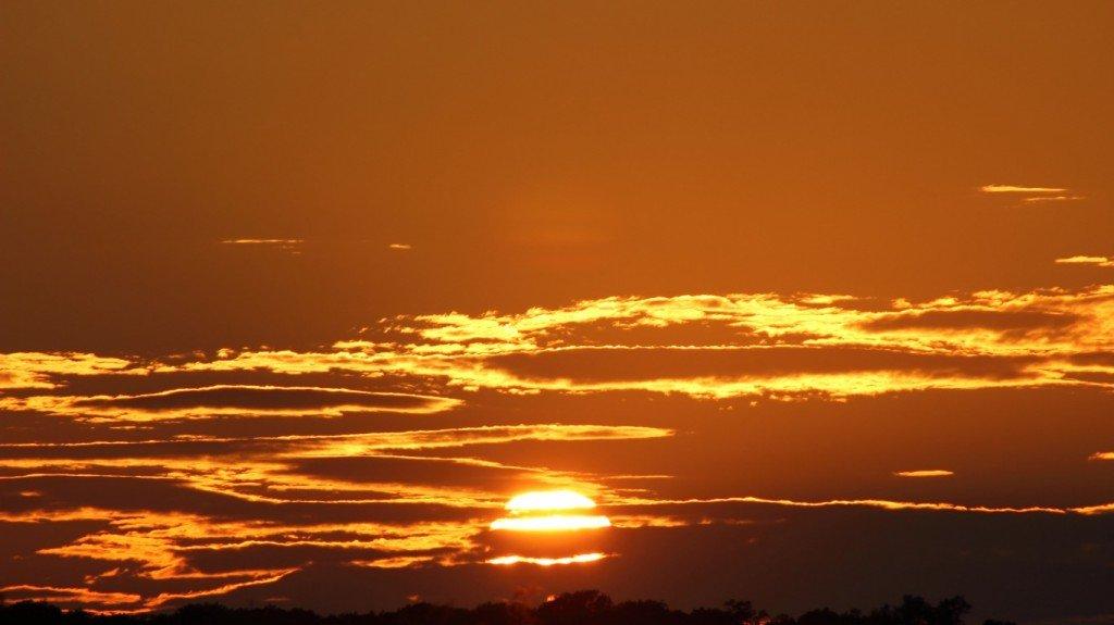 солнце,небо,закат