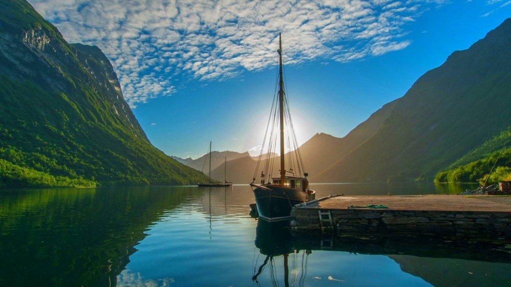 яхта,фото,скачать,стол,рабочий,залив,закат,солнце,небо