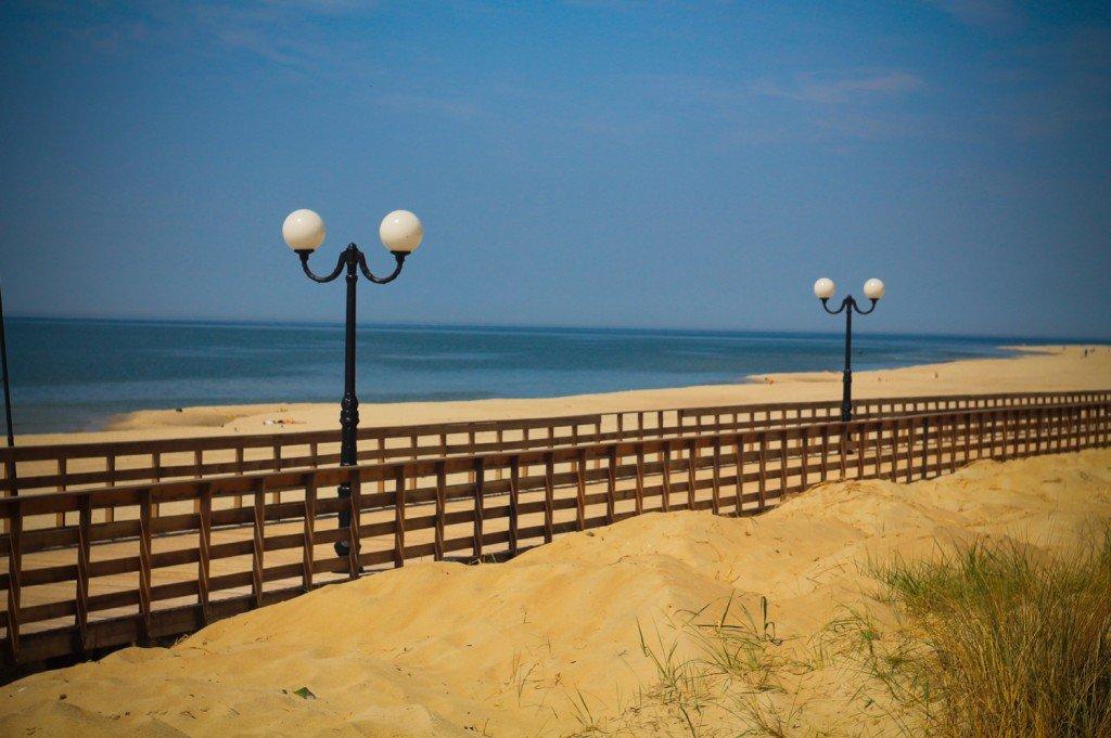 променад,море,янтарный,фото,калининградская,пляж