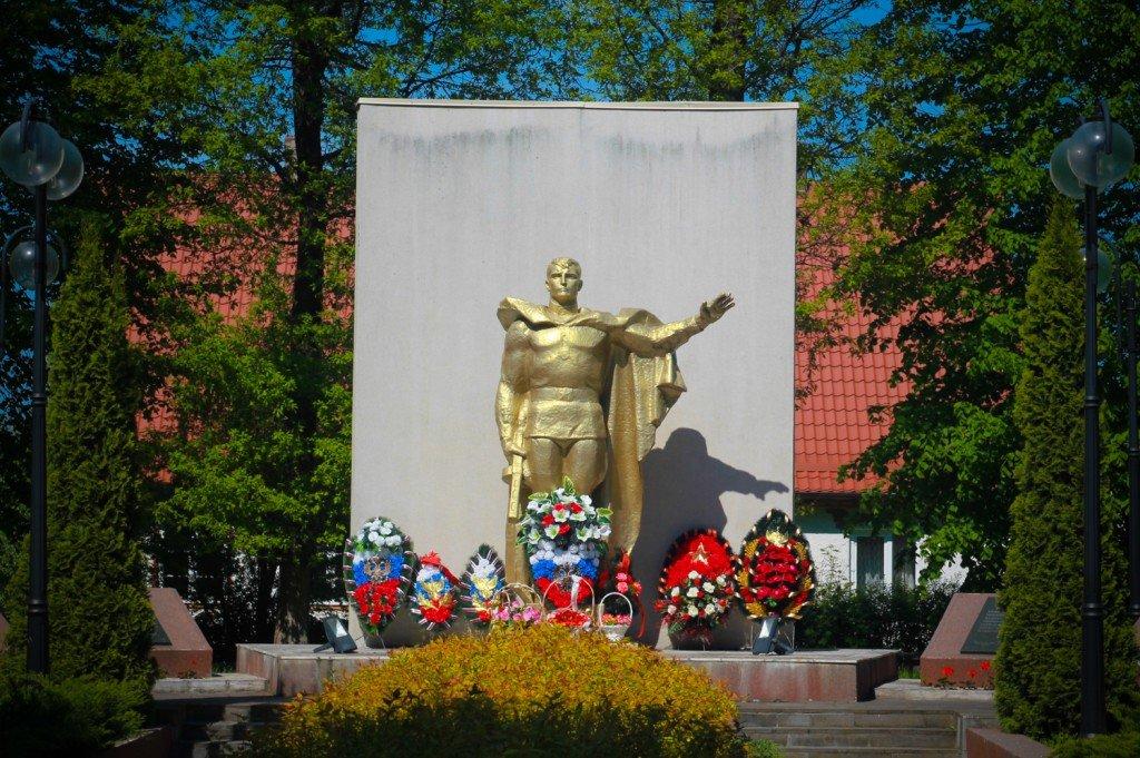 памятник,фото,янтарный,павшие,воины