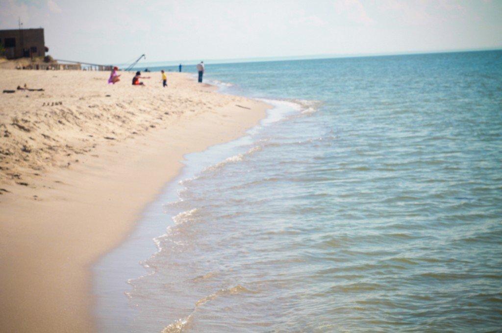 балтийское,море,песок,янтарный,фото