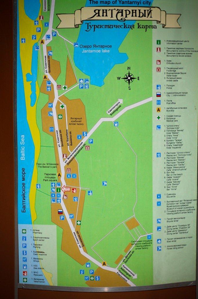 достопримечательности,фото,Янтарный,область,калининградская,схема