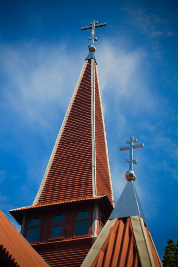 церковь,православная,Янтарный,Калининградская,фото