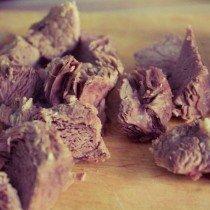 борщ,мясо,кусочки