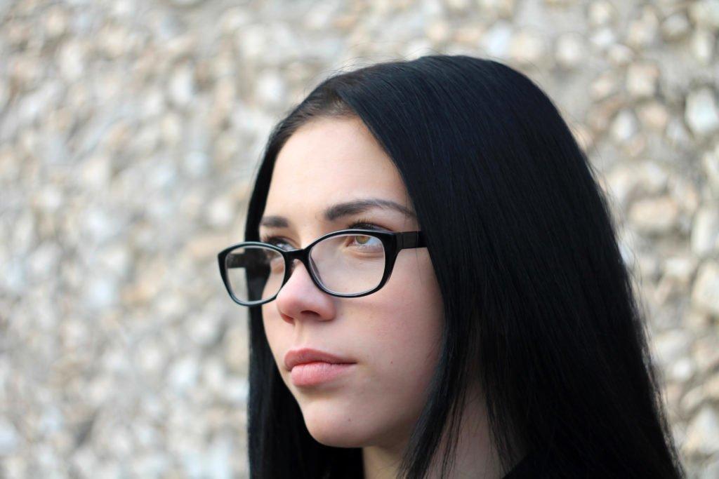 Анна, очки, фотопортрет, портрет